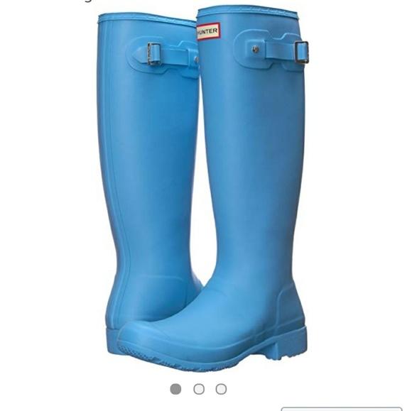 2c9e01d43ab Forget me not original tour Hunter boots NWT